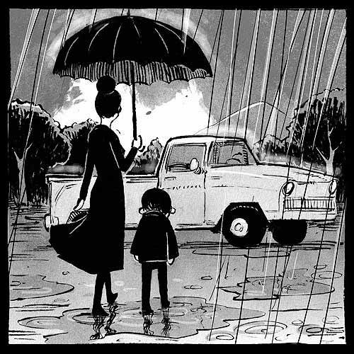 Nothing is Forgotten wordless comic by Ryan Andrews