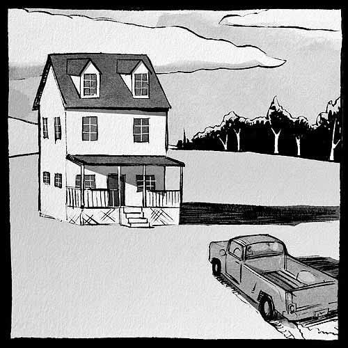 Ryan Andrews, Nothing is Forgotten, wordless comic