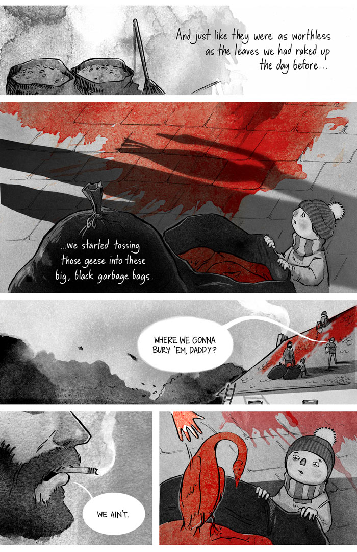 Ryan Andrews, Our Bloodstained Roof, comics