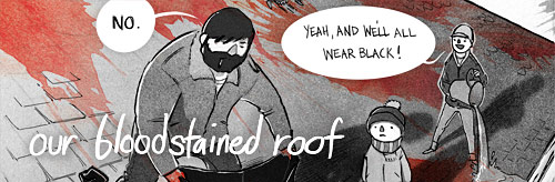 Ryan Andrews, Our Bloodstained Roof, Ryan A.