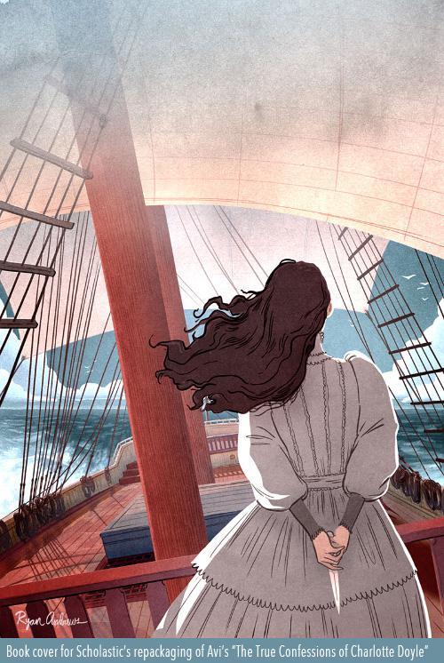 Ryan Andrews, Charlotte Doyle, illustration