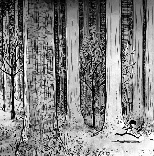 Ryan Andrews, Nothing is Forgotten, illustration